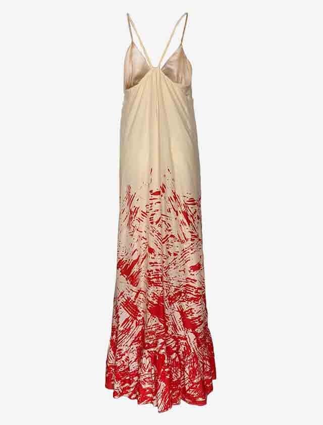 DIANE von FURSTENBERG Andy Warhol ロング ドレス