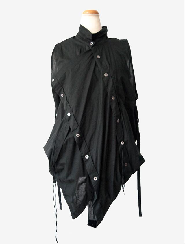 ANN DEMEULEMEESTER アン ドゥムルメステール 4way シャツドレス