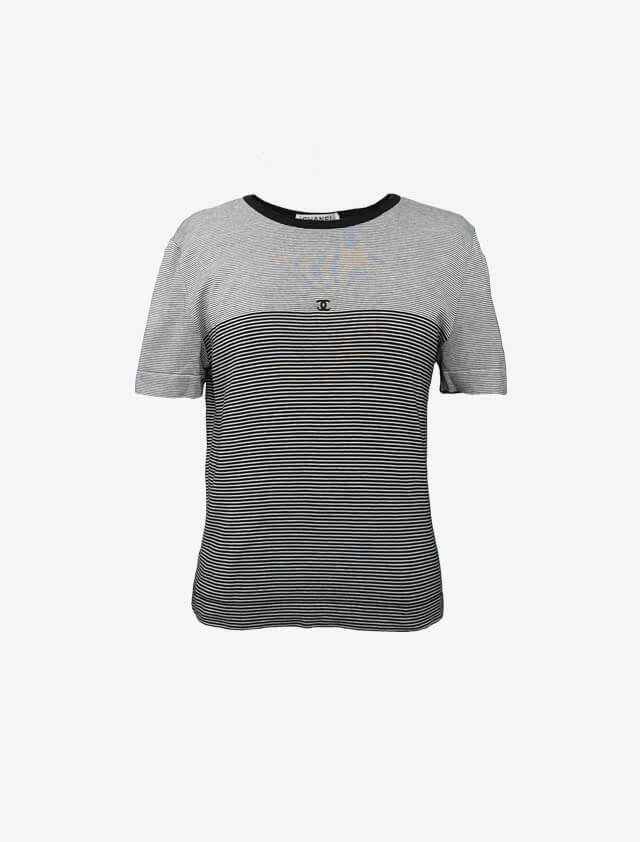 CHANEL シャネル ボーダー Tシャツ