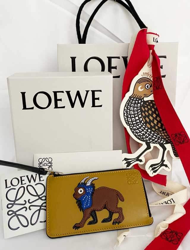 LOEWE ロエベ リンクス カード コインケース