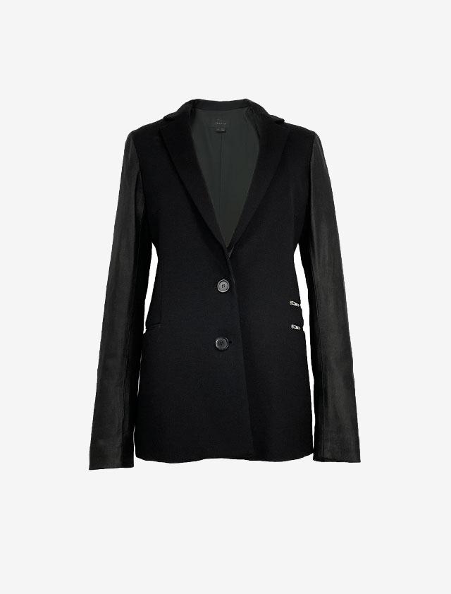 THEORY セオリー ブラック 異素材 ジャケット